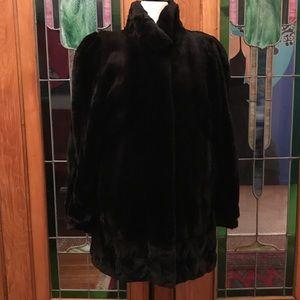 Jackets & Blazers - Vintage Shaved Mink Coat